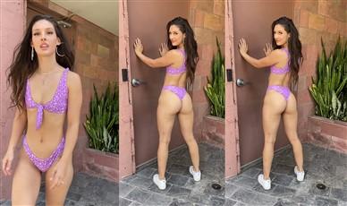 Natalie Gibson Topless Bikini Ass Shaking Video Leaked