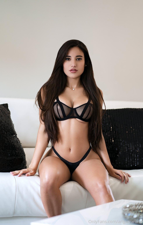 Angie Varona G String Lingerie Onlyfans Set Leaked Iymeir