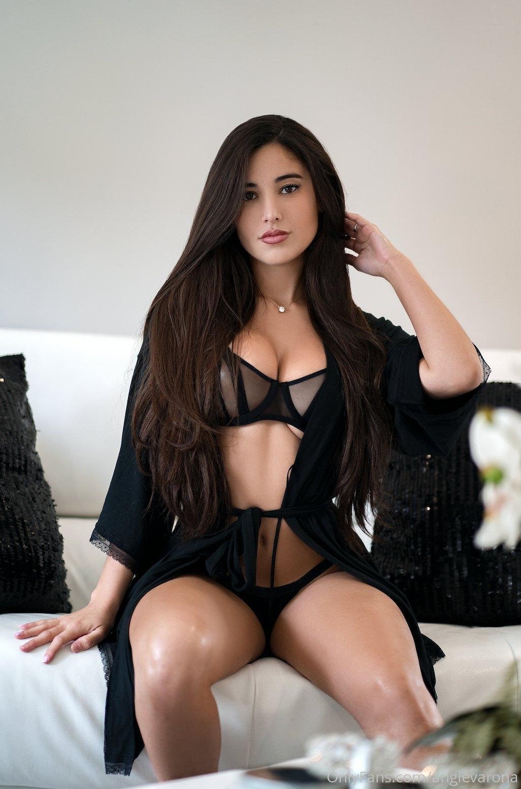 Angie Varona G String Lingerie Onlyfans Set Leaked Pyjzsc