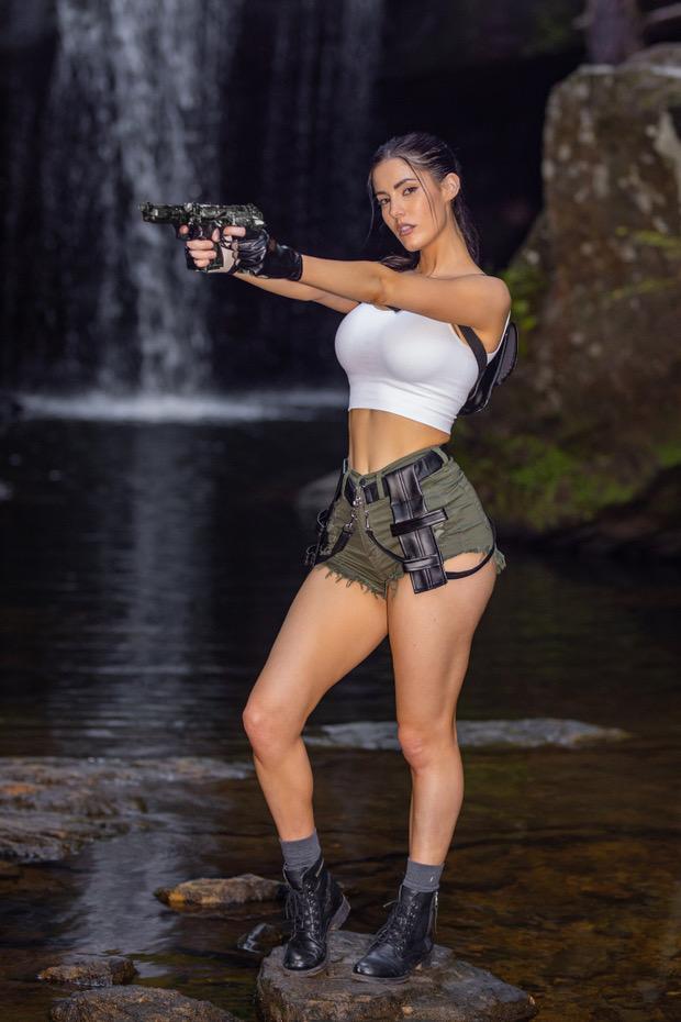 Erin Olash Lara Croft Cosplay Patreon Set Leaked Nobzke