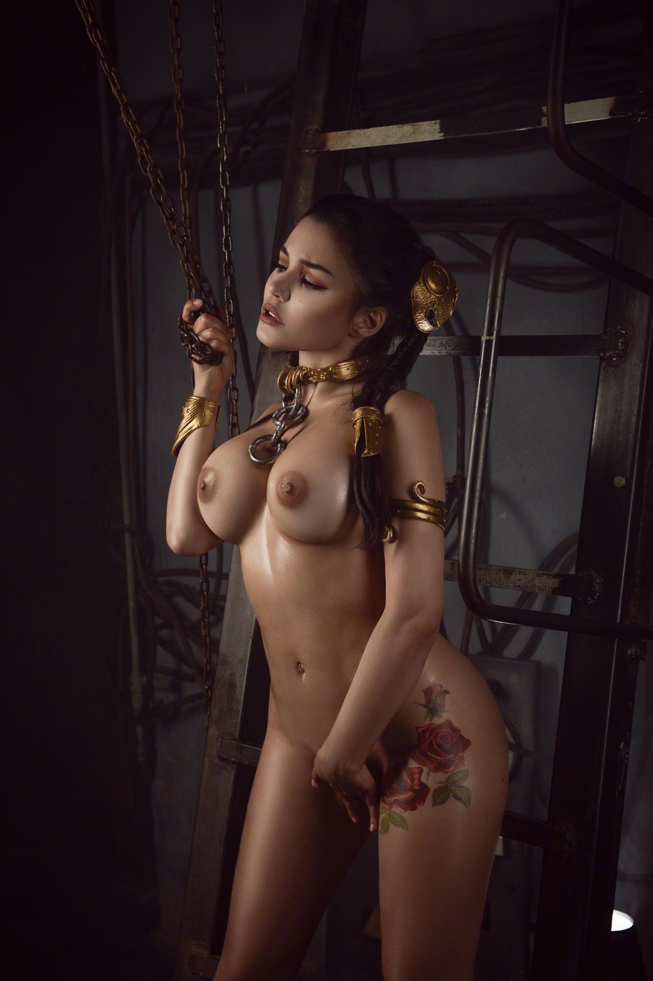 Kalinka Fox Nude Princess Leia Cosplay Set Leaked Bfvrkn