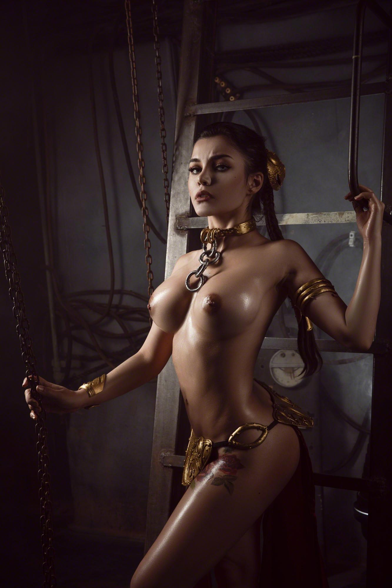 Kalinka Fox Nude Princess Leia Cosplay Set Leaked Cuccpg