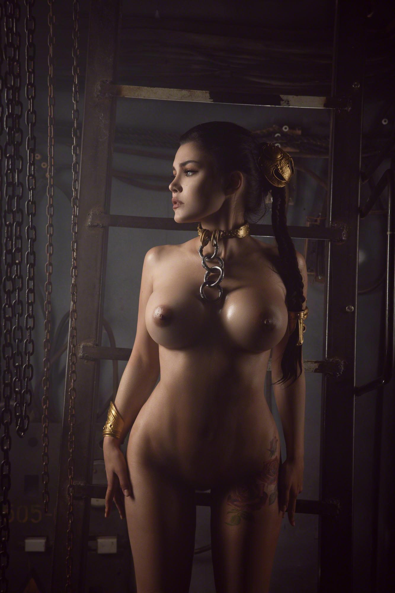 Kalinka Fox Nude Princess Leia Cosplay Set Leaked Gysuli
