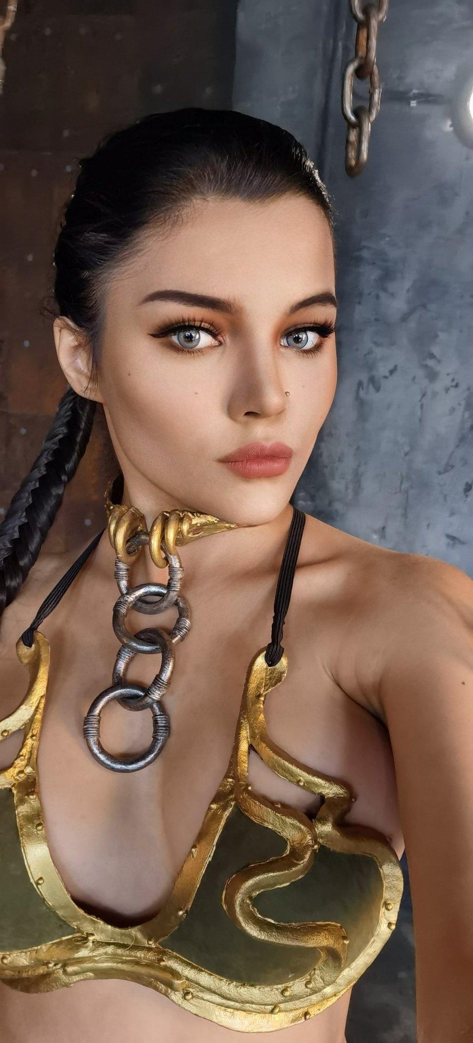 Kalinka Fox Nude Princess Leia Cosplay Set Leaked Jlhlus
