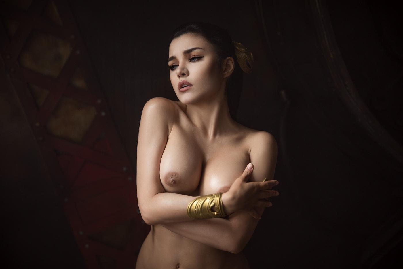 Kalinka Fox Nude Princess Leia Cosplay Set Leaked Kzocwd