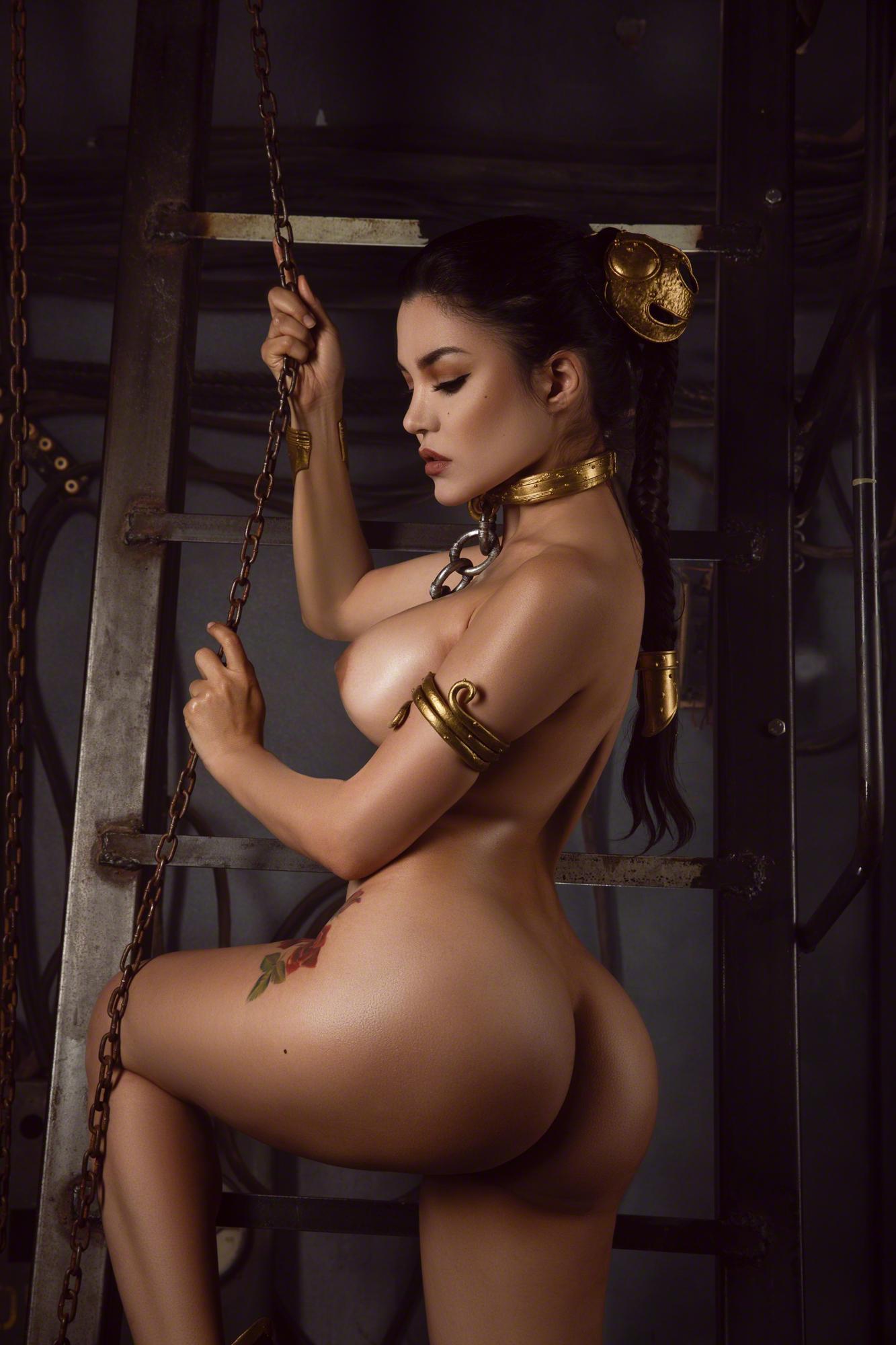 Kalinka Fox Nude Princess Leia Cosplay Set Leaked Nspvkn