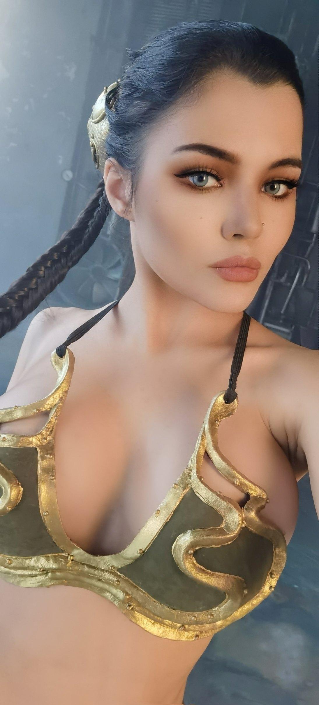 Kalinka Fox Nude Princess Leia Cosplay Set Leaked Tfssjv