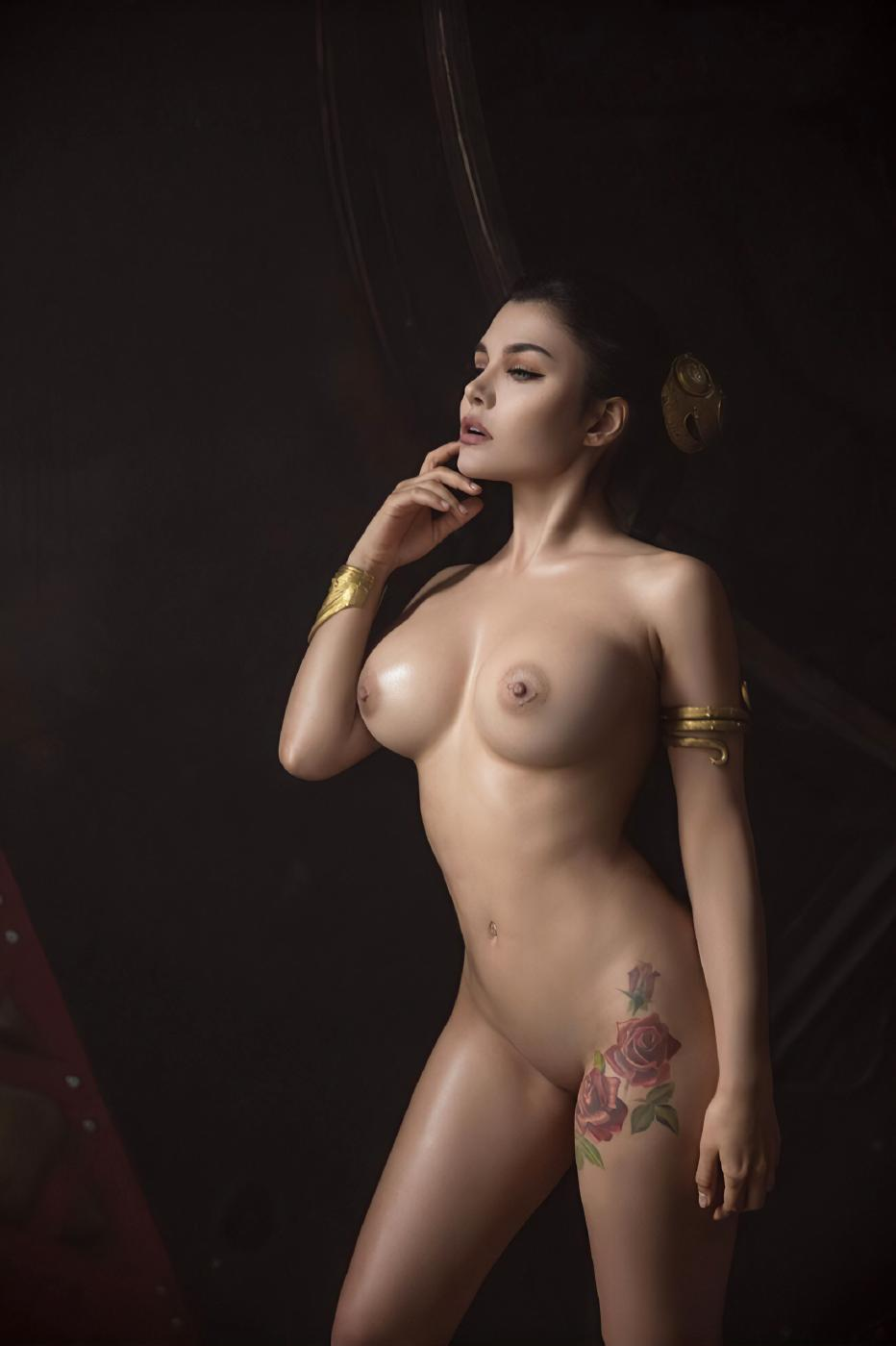 Kalinka Fox Nude Princess Leia Cosplay Set Leaked Xkkxdl