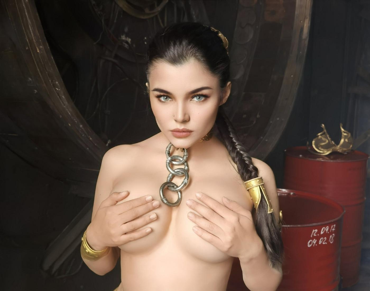 Kalinka Fox Nude Princess Leia Cosplay Set Leaked Xptedu