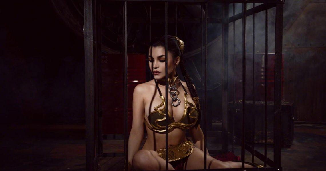 Kalinka Fox Princess Leia Slave Cosplay Set Leaked Cynsfo