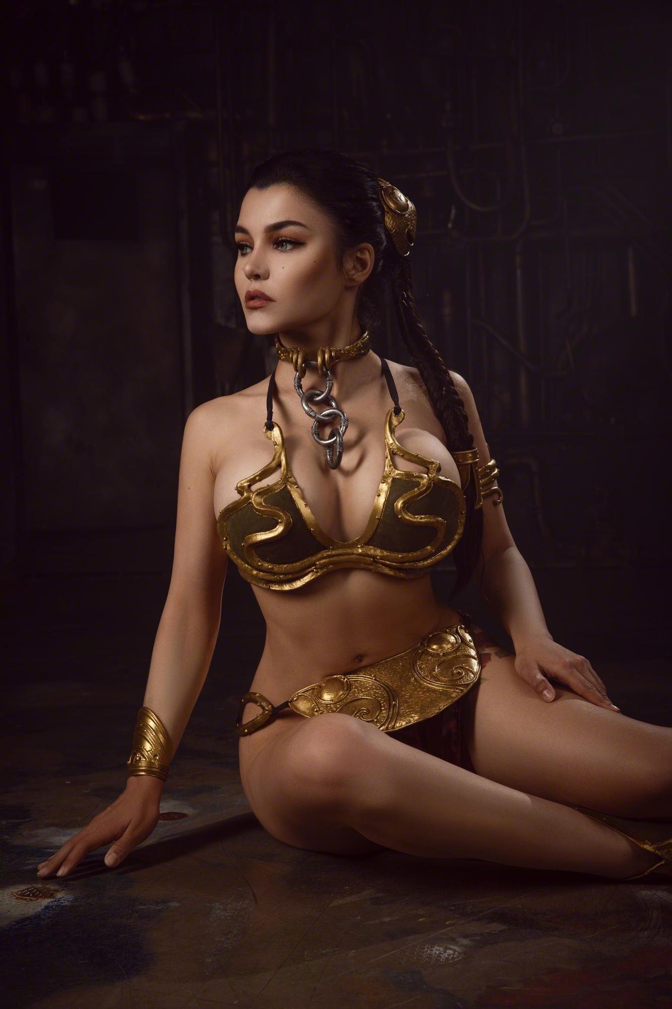 Kalinka Fox Princess Leia Slave Cosplay Set Leaked Ednxgc
