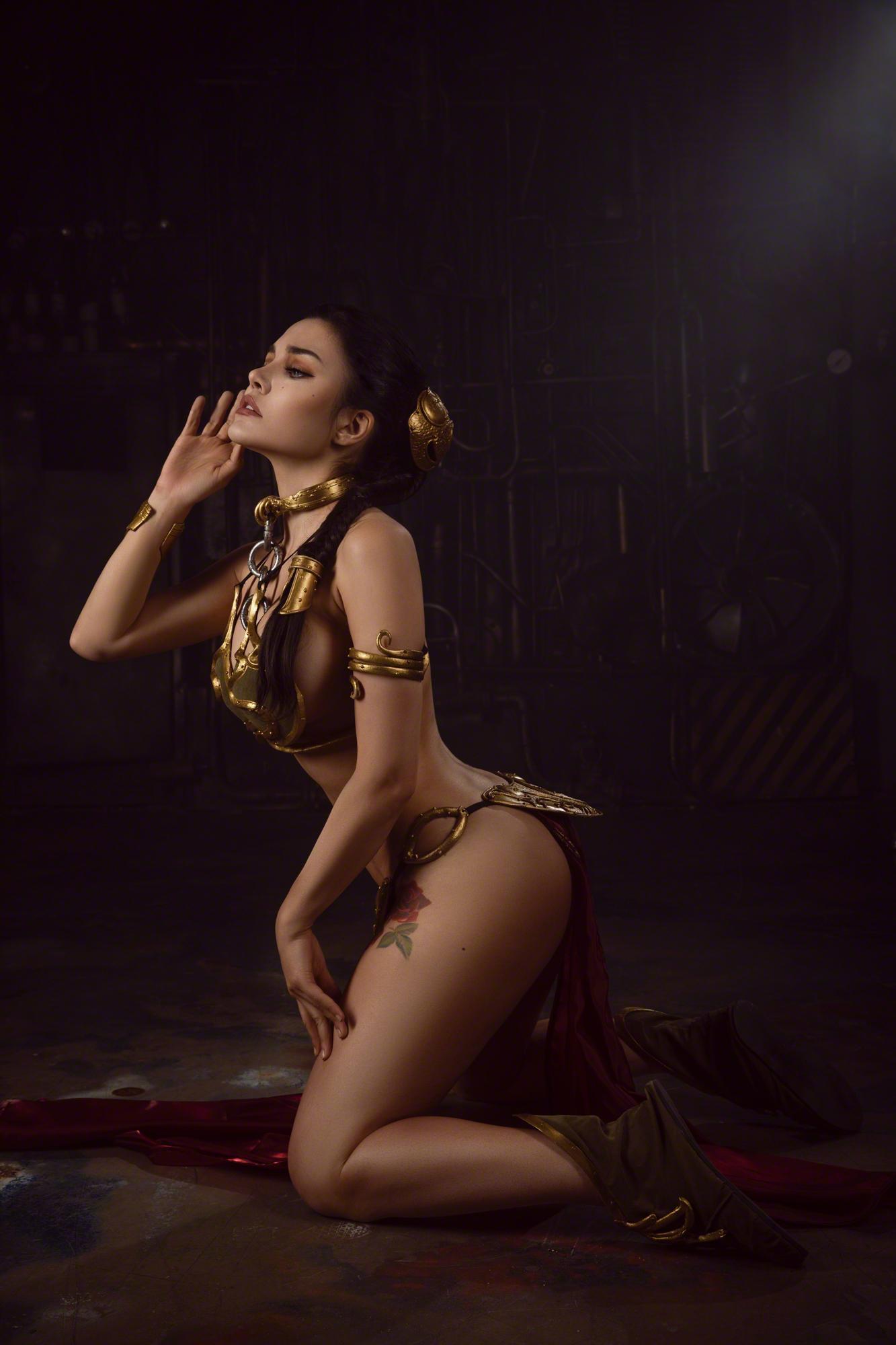 Kalinka Fox Princess Leia Slave Cosplay Set Leaked Nbbvrc