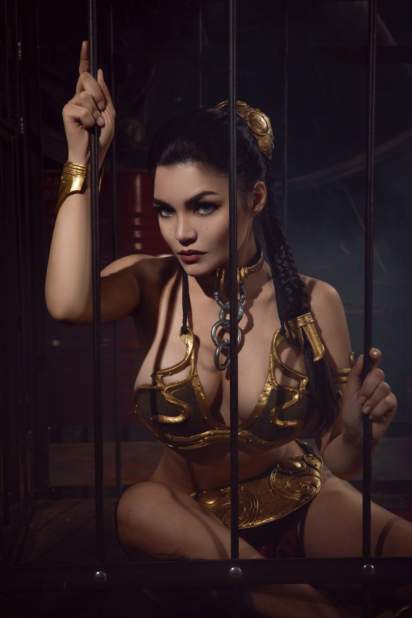 Kalinka Fox Princess Leia Slave Cosplay Set Leaked Qxhpwd