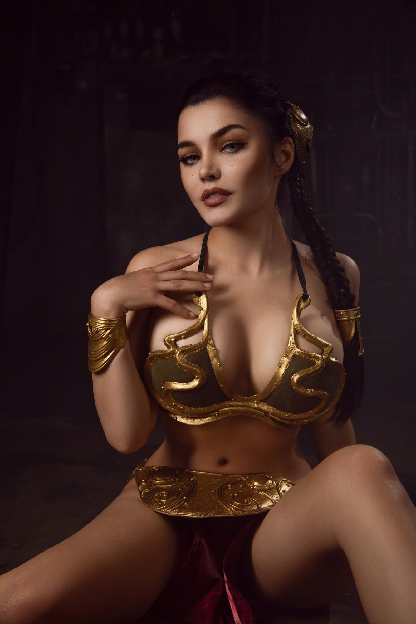 Kalinka Fox Princess Leia Slave Cosplay Set Leaked Yucxkt