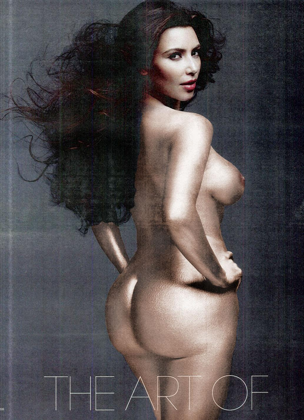 Kim Kardashian Nude Body Paint Photoshoot Leaked Jvznip