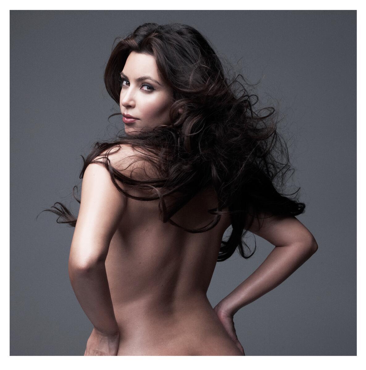 Kim Kardashian Nude Body Paint Photoshoot Leaked Jwrhss