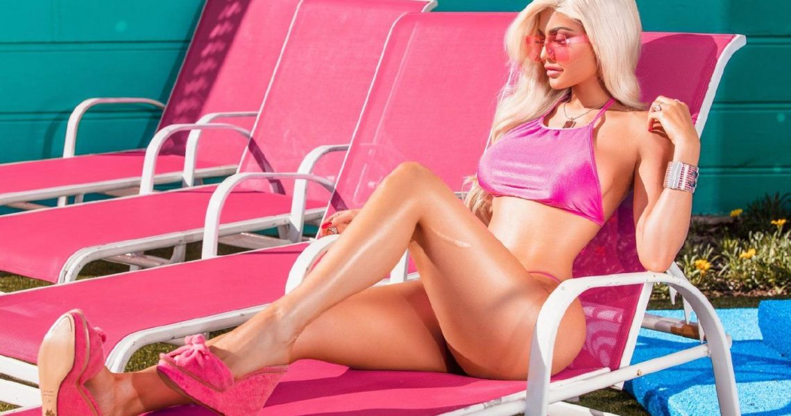 Kylie Jenner Thong Swimsuit Photoshoot Leaked Olwupd