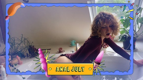 Anal July With Serafina,what A Wild Ride!