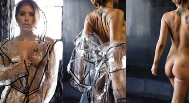 Brittney Palmer Nude Raincoat Teasing Video Leaked
