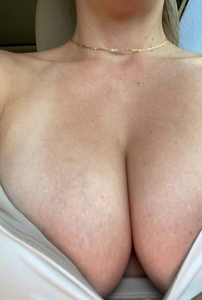 Christina Khalil Car Boobs Teasing Onlyfans Video Leaked