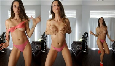Cortney Palm Nude Fun Dance Video Leaked