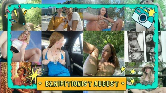 Ersties.com Exhibitionist August The Outdoor Adventure Month At Ersties