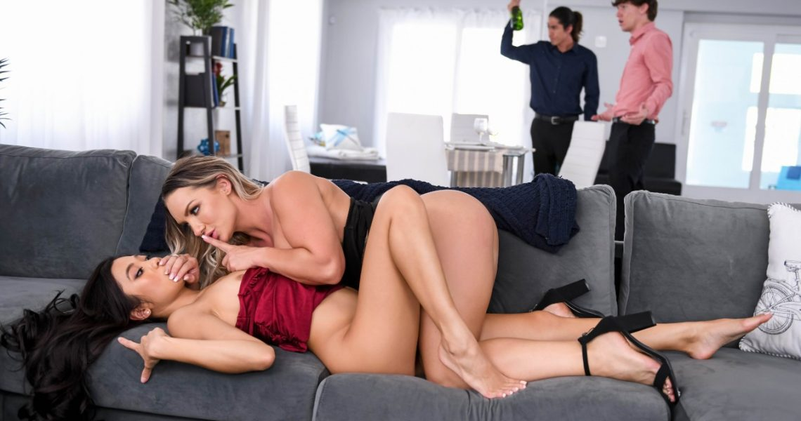 Hot And Mean With Cali Carter & Vina Sky In Wet And Wild Dinner Party