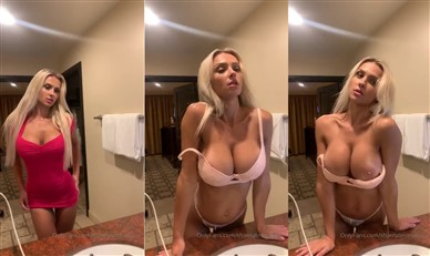 Shantal Monique Nude Teasing In Front Of Mirror Video Leaked