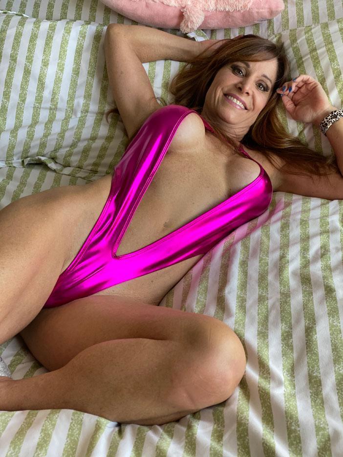Banshee Moon Pink Sling Bikini Onlyfans Set Leaked Dnfxia