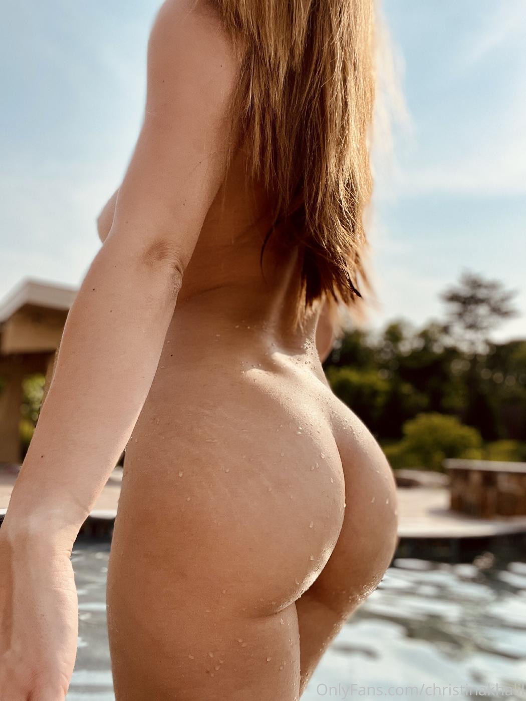 Christina Khalil Topless Pool Onlyfans Set Leaked Xdtigw