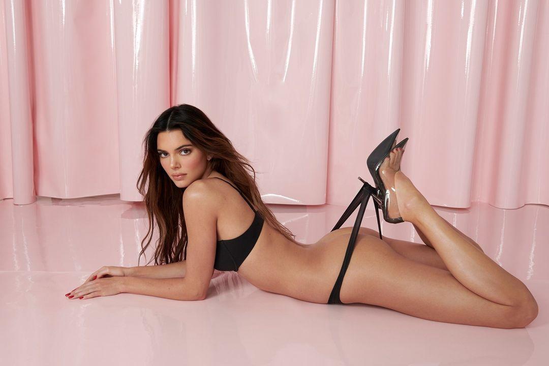 Kendall Jenner Skims Thong Photoshoot Leaked Ekeaua
