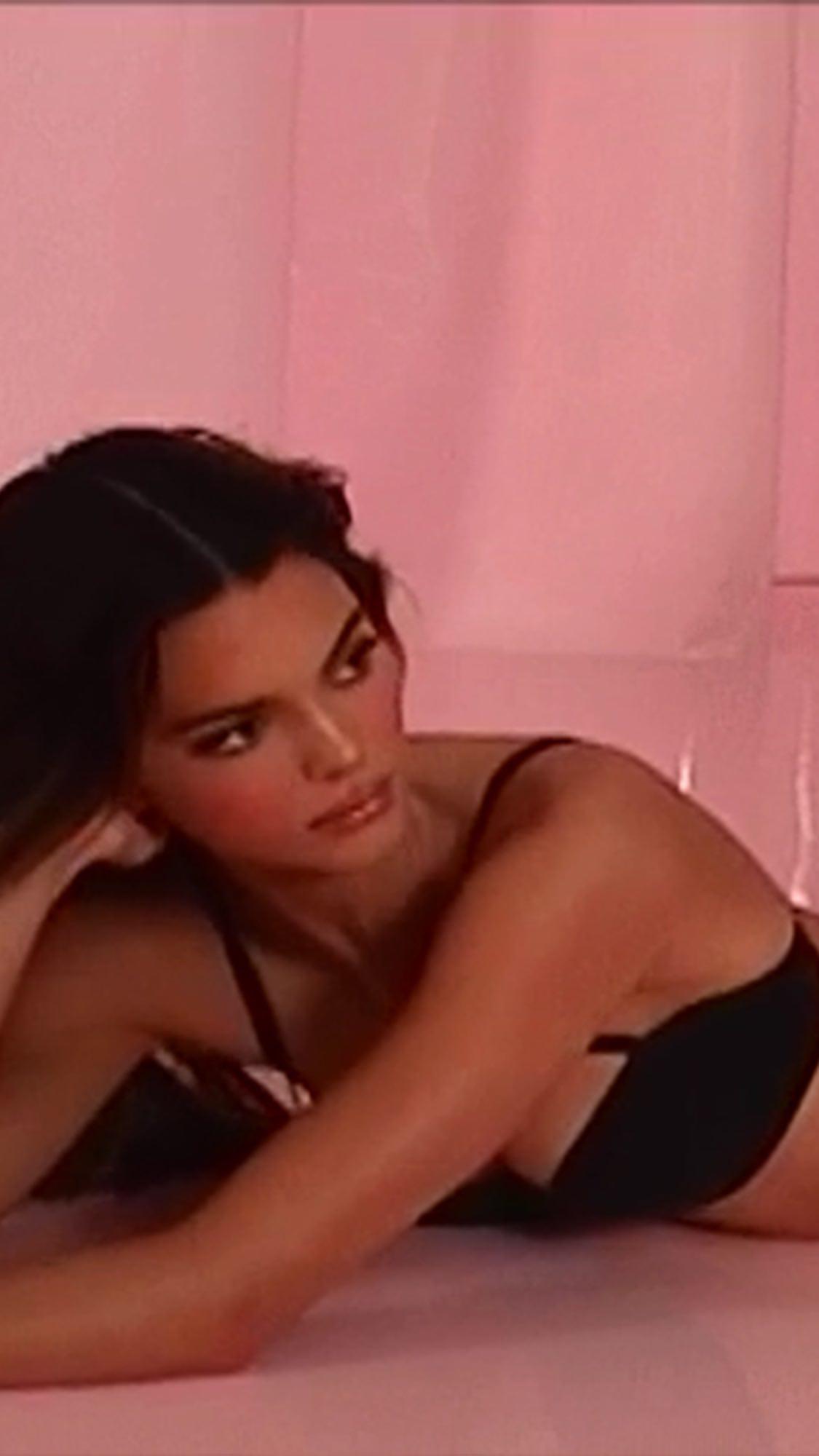 Kendall Jenner Skims Thong Photoshoot Leaked Neawff