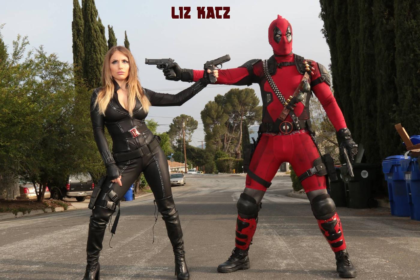 Liz Katz Topless Black Widow Cosplay Onlyfans Set Leaked Qdrsmk