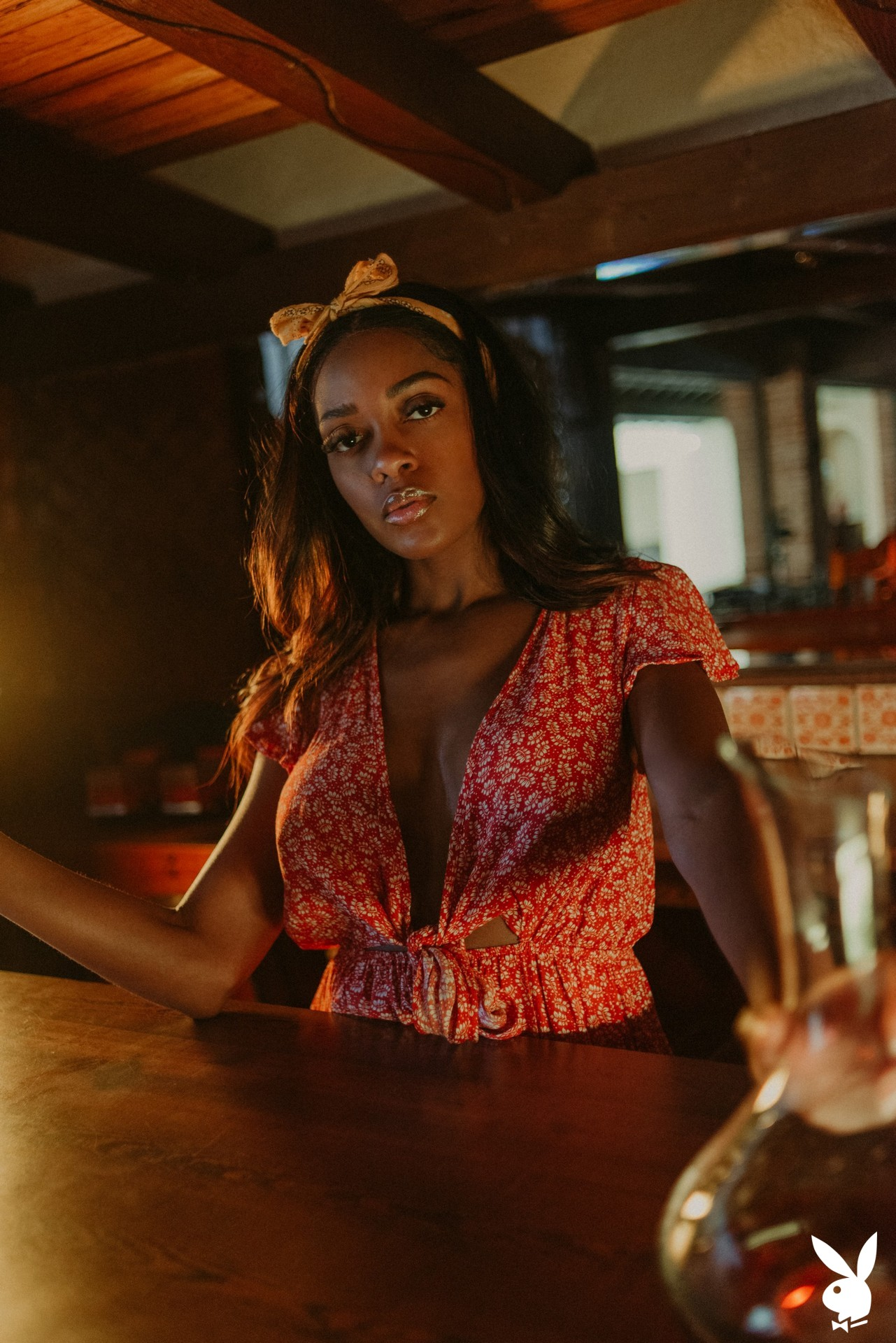 Amber Rose In Making Shots Playboy Plus (2)