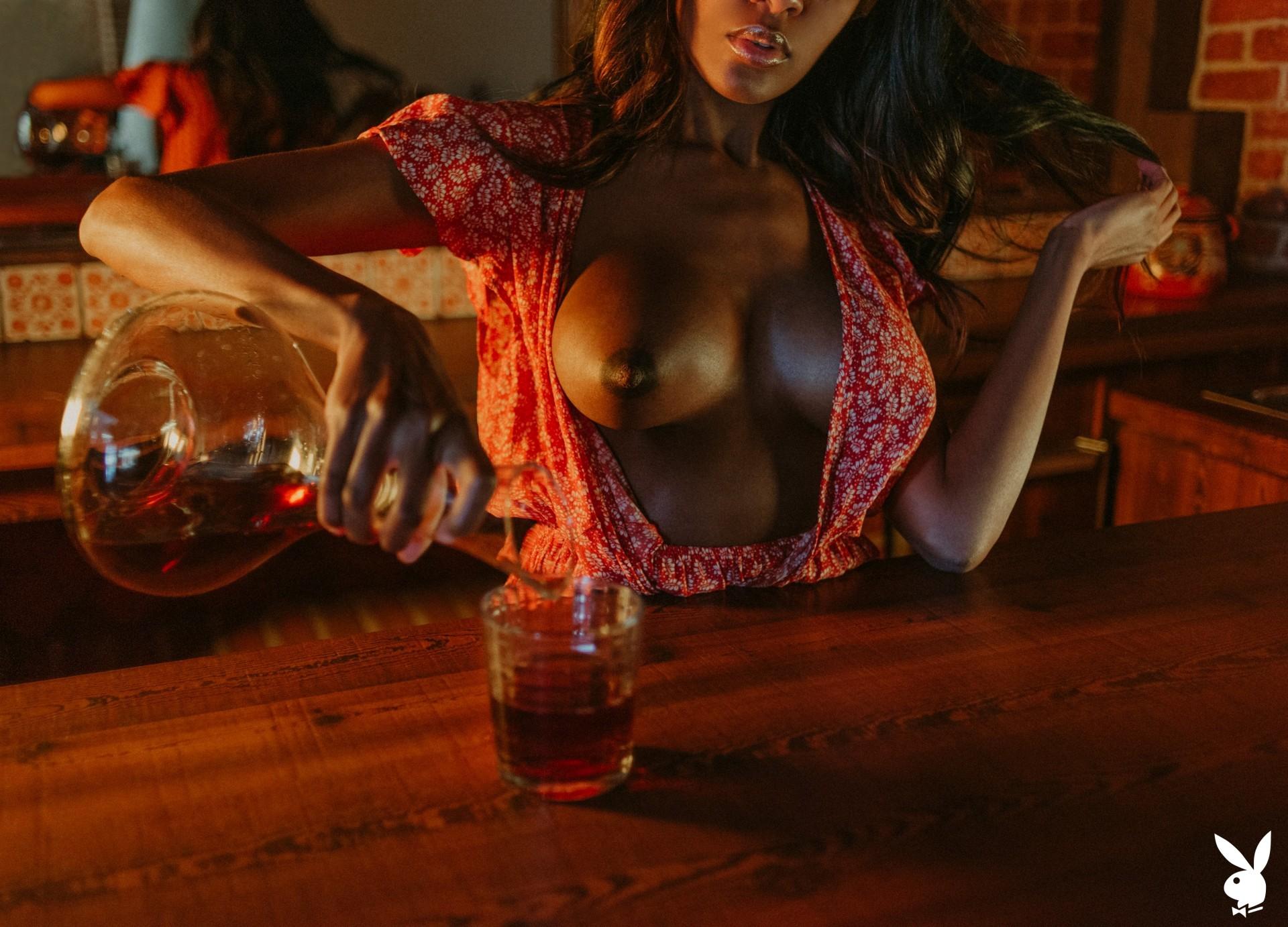 Amber Rose In Making Shots Playboy Plus (5)