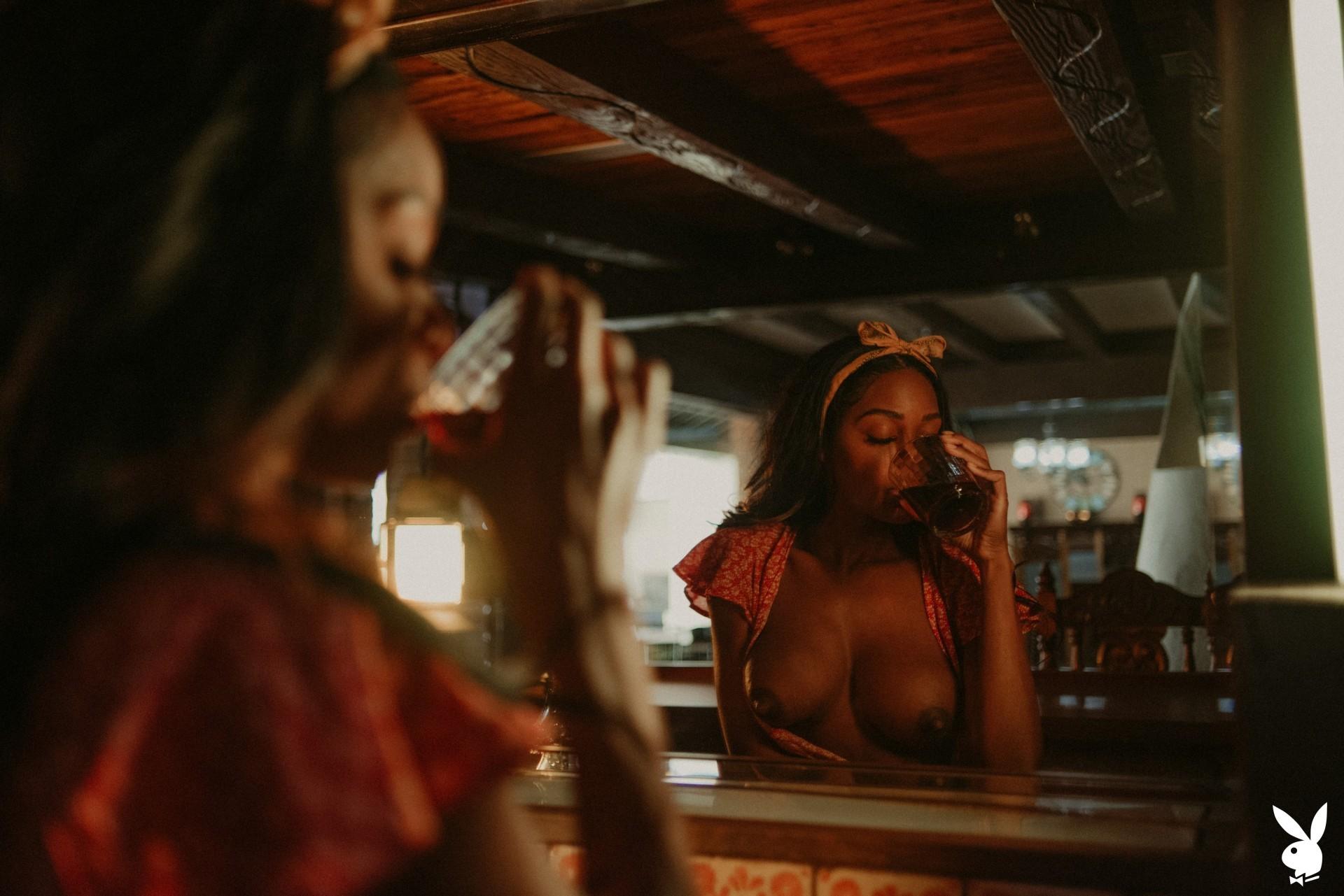 Amber Rose In Making Shots Playboy Plus (6)