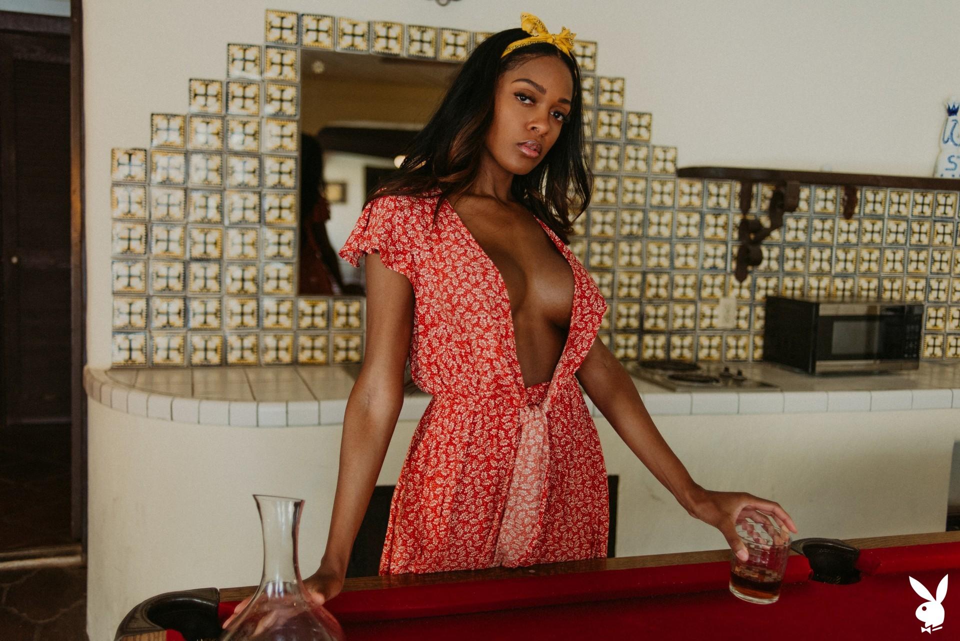 Amber Rose In Making Shots Playboy Plus (8)