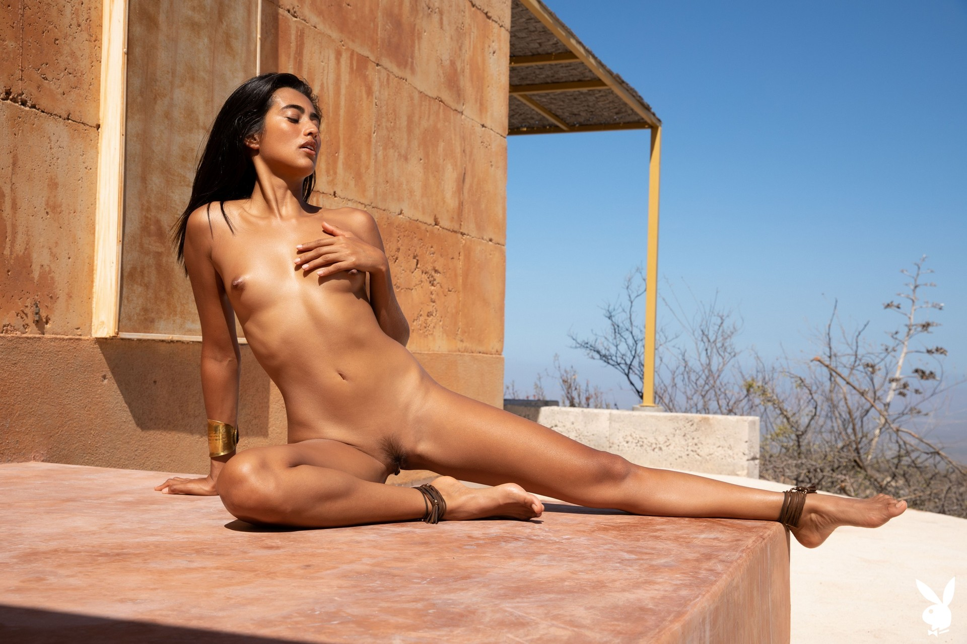 Katherinne Sofia Is Dripping In Gold Playboy Plus (12)