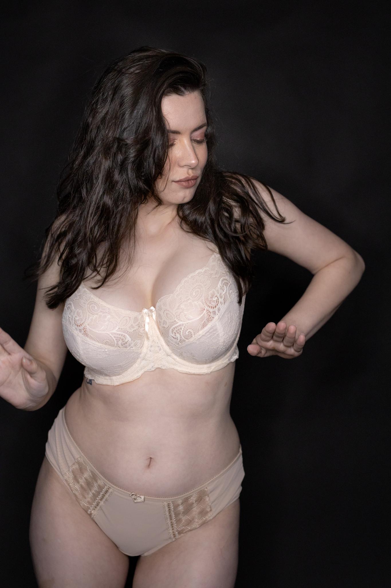 Sam Paige Nude Lingerie Strip Set Leaked 0003