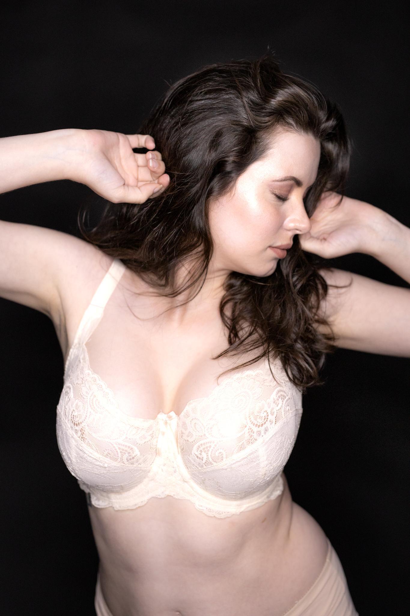 Sam Paige Nude Lingerie Strip Set Leaked 0007