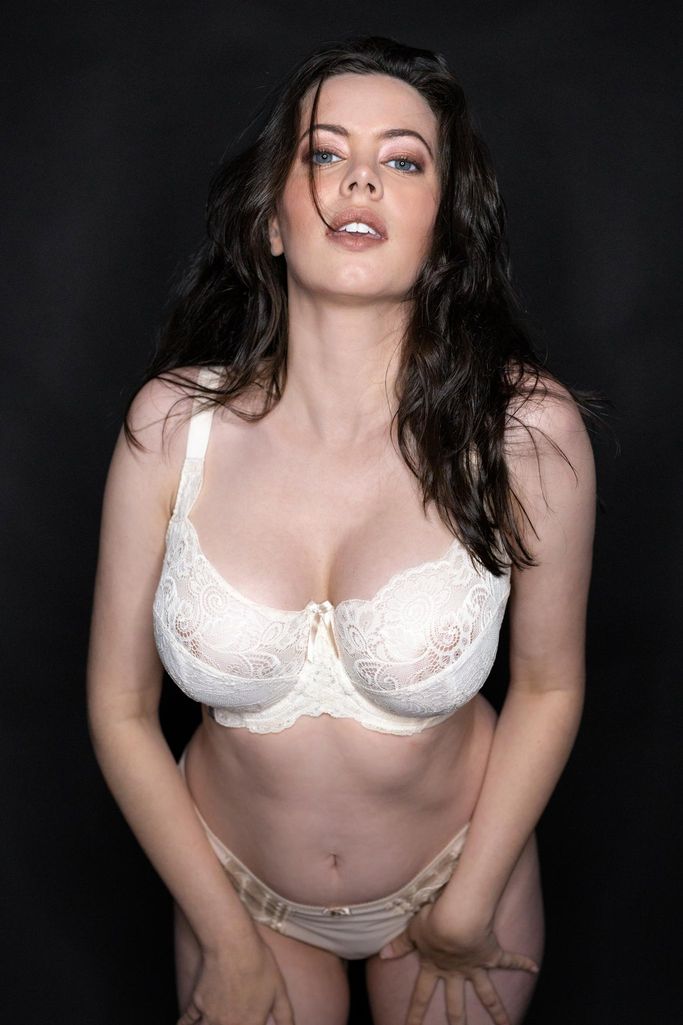 Sam Paige Nude Lingerie Strip Set Leaked 0008