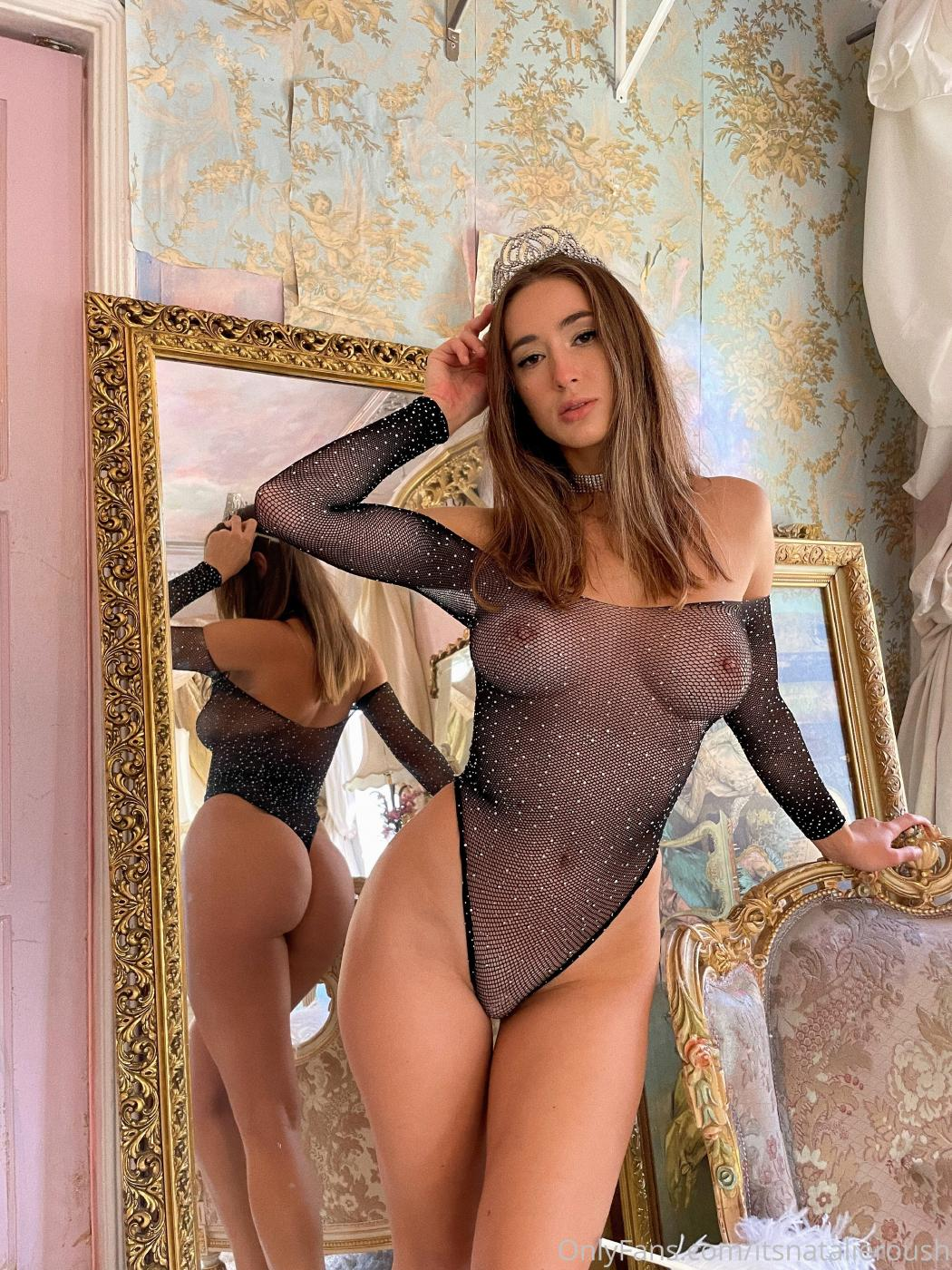 Natalie Roush Nude Fishnet Onlyfans Set Leaked Gduudc