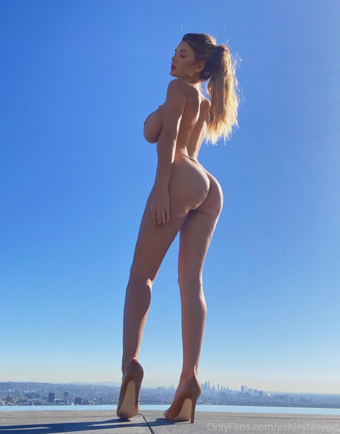 Ashley Tervort High Heels Nip Slip Onlyfans Set Leaked 0004
