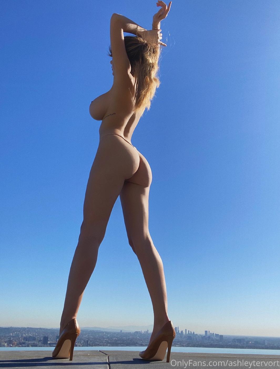 Ashley Tervort High Heels Nip Slip Onlyfans Set Leaked 0005