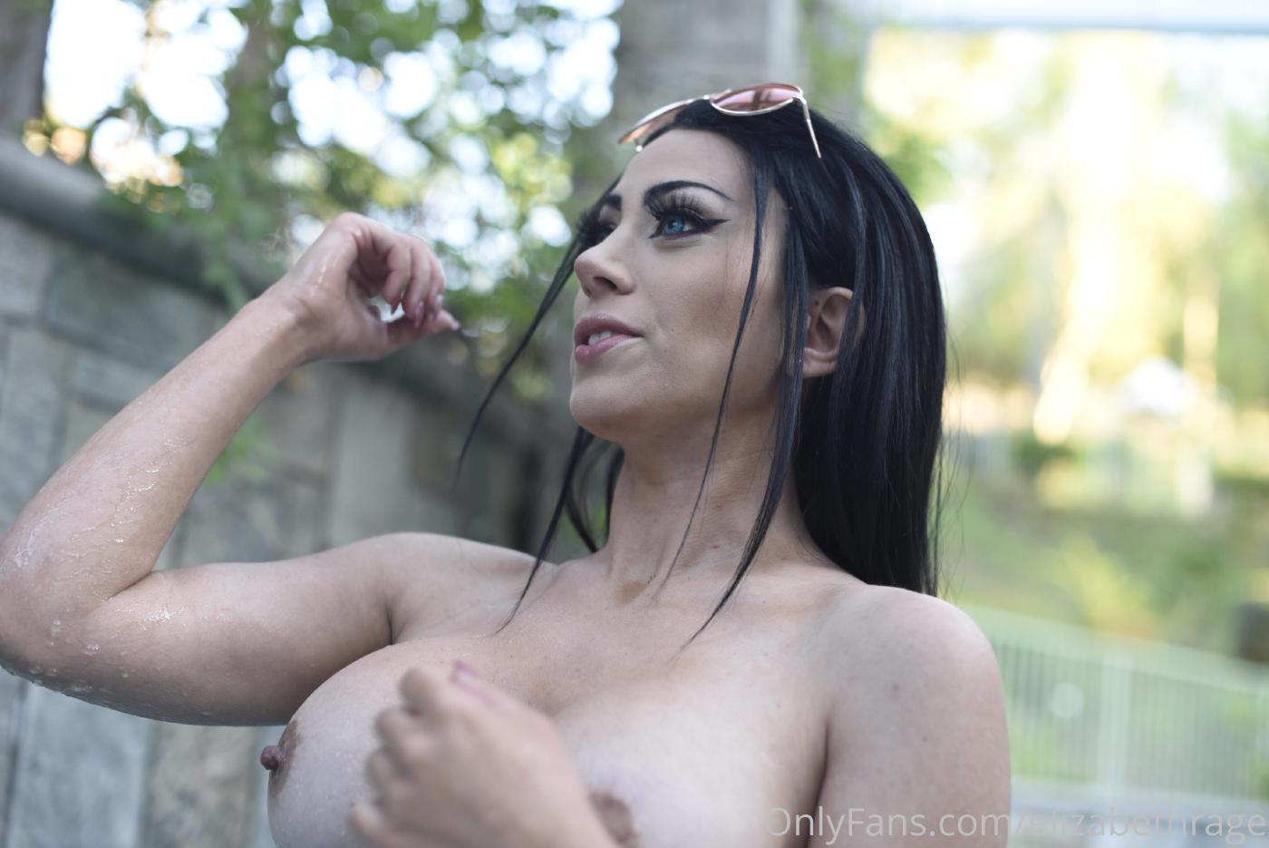 Elizabeth Rage Nude Outdoor Pool Onlyfans Set Leaked 0017