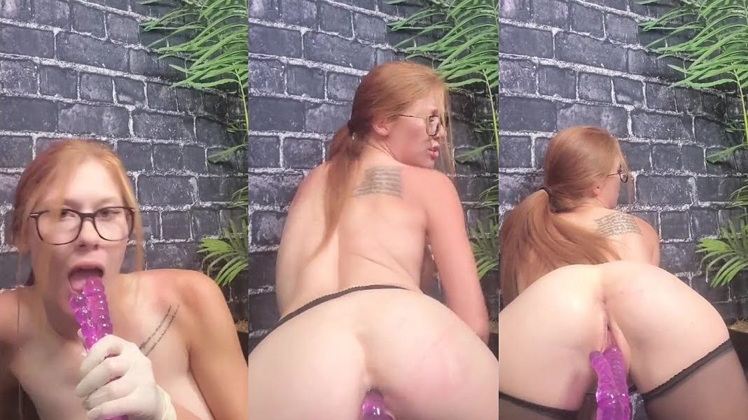 Ginger Asmr Nude Double Penatration Play Onlyfans Video Leaked
