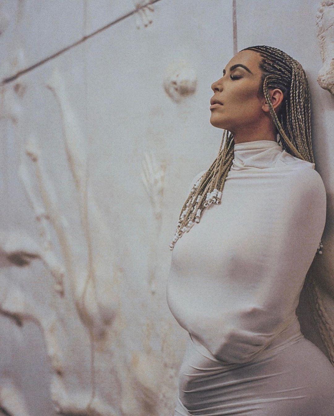 Kim Kardashian Nude Thong Magazine Photoshoot Set Leaked 0004
