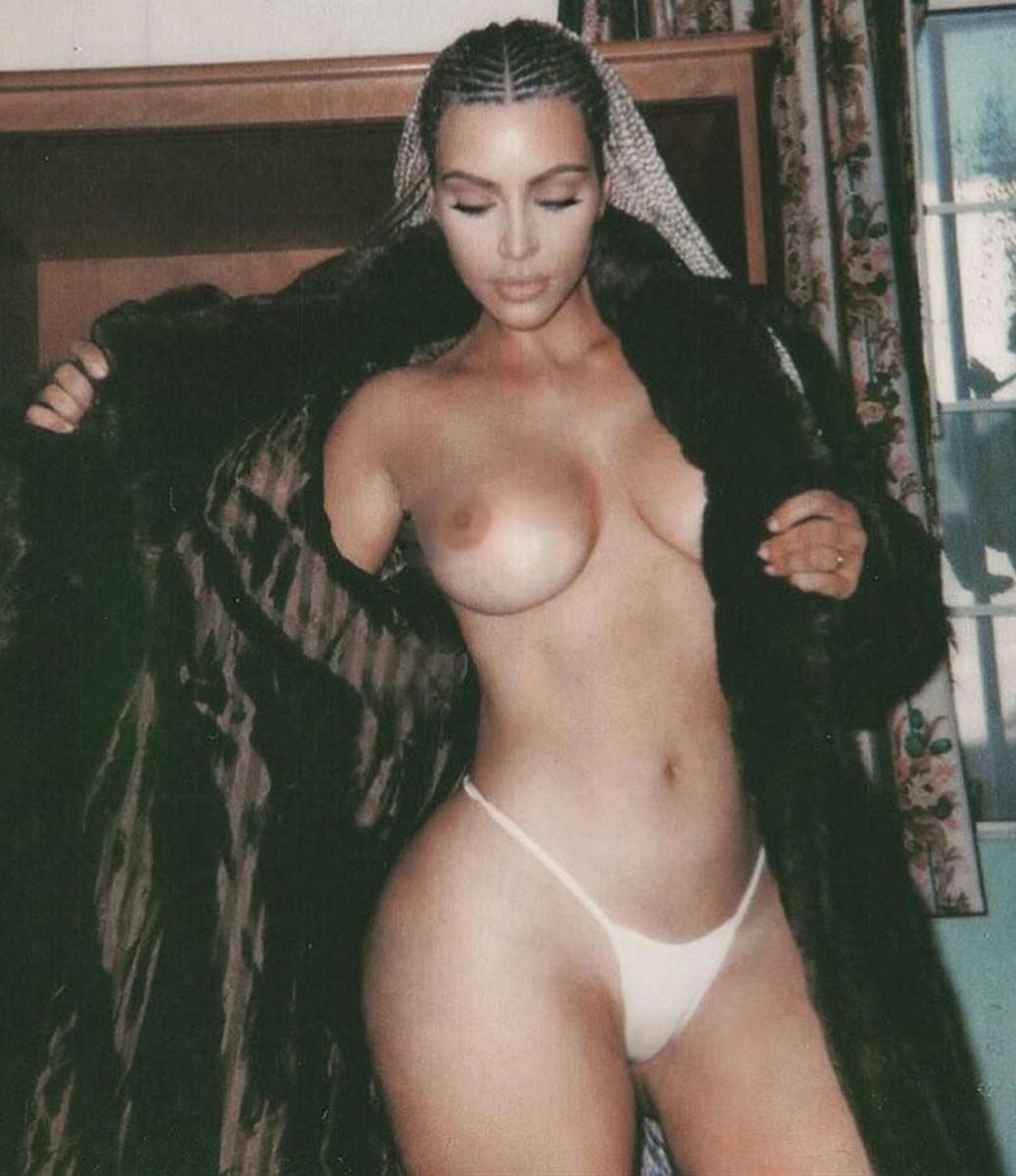 Kim Kardashian Nude Thong Magazine Photoshoot Set Leaked 0005
