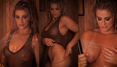 Paige Vanzant Nude Shower Teasing Video Leaked